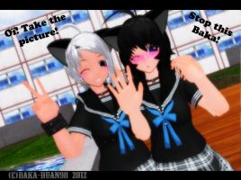 MMD : Take The Picture! by StupidUsagiSan