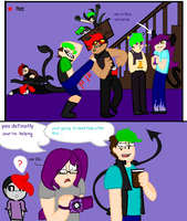 antisepticeye and darkiplier madness by sonicbeatbox100