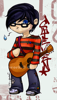Emo Kid Steven -- WURD yo by cerena