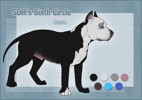 STS Dog- Dante by ShockTherapyStables