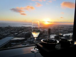 .:Melbourne Sunset:. by Ebony-leigh