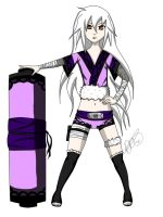 Contest entry - Naruto OC Momoko for Shiroi-Tori by XxDeeDevilxX