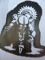 Big Daddy Stencil by KanekiKenV13
