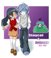 STAYCEI and JONNY and JENNY by shadow2007x