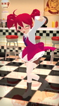 Teto in a diner (test) by BottledWottle