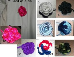 selling sheet for my roses by angelbaby88