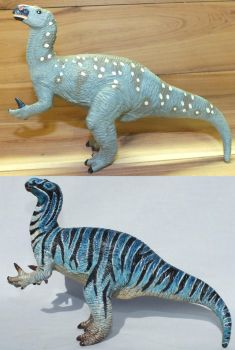 Iguanodon (2 of 4) by Lithographica