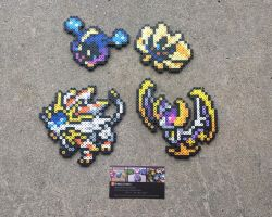 Sun + Moon Legends - Pokemon Perler Bead Sprites