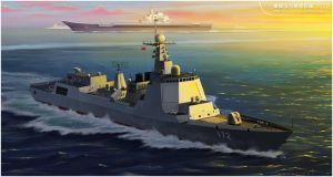 China's domestic fleet destroyer 052D by huihui1979