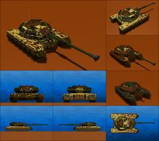 Diablo Mark I Heavy Battle Tank by Raven-Gold