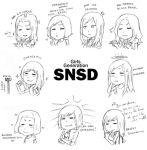 SNSD by Lieutenant-Down