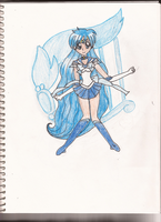 Hanon as Sailor Mercury by IronBatMaiden91