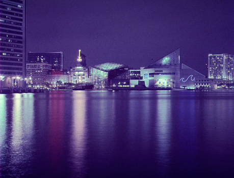 Baltimore waterfront by hell-on-a-stick