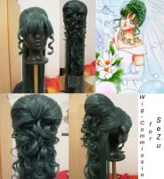 Wig Commission - Setsuna Meiho [Wedding dress] by lenia90