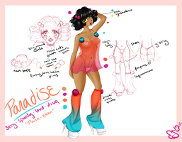 Paradise Ref Sheet by Cherielou