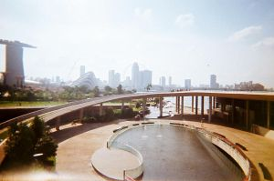 marina barrage by chuckTHEchick
