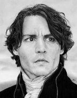 Johnny Depp as Ichabod Crane by DryJack