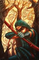 Green Arrow Cover Art by ChristyTortland