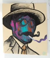 The Colorhead Man by mikedestructive