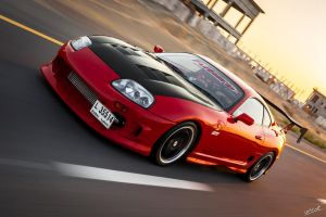 950hp Red Supra by JamesDubai