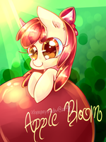 30 min challenge: Apple bloom MLP by AquaGalaxy