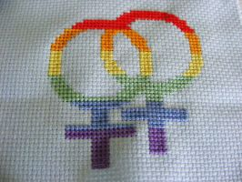 Lesbian Pride by PatchesOfInk