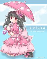 Pinkish Lolita for Heiwa-chan by Iris-Zeible