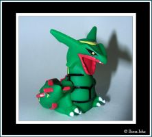 Rayquaza Kids Figure by Ilona-the-Sinister