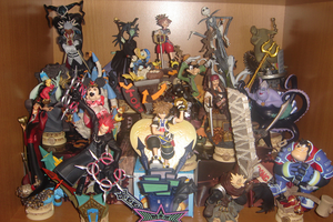 Kingdom Hearts Trading Arts by WarriorOfPurgatory