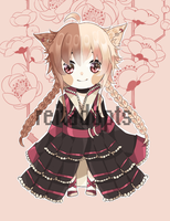 [CLOSED - FREE GIVEAWAY] Kemonomimi Adopt by reitadopts