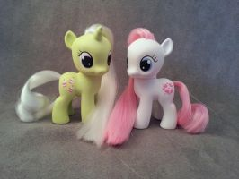 G1-G4 Baby Frosting and Sundance - MLP Customs by hannaliten