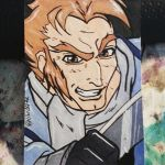 Captain Boomerang Mini Card by the-kid36