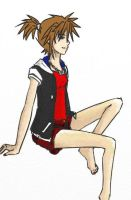 Female Sora, KH1 Palette by UrameshiRain