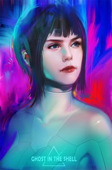 Ghost in the shell by superschool48
