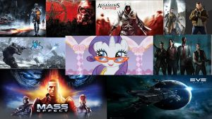 Compilation on games wallpaper by hunterz263