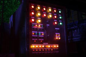 switch control box at night by FreSch85