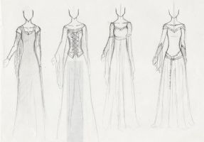 CoN: Costume Designs 3 by TerraForever