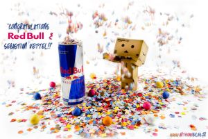Congratulations Red Bull by arthobald