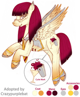 Adopt for Crazypurplebat by tinuleaf