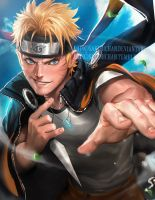 Naruto by sakimichan