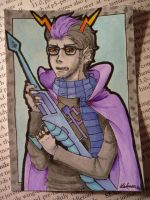 HS: Eridan ACEO by Laknea
