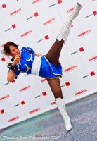 High Kick! (Chun Li Street Fighter Cosplay) by Red-Crane