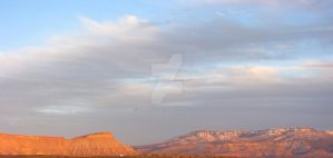 Grand Mesa and Garfield Sunset by Qphacs