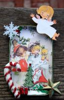 vintage christmas tin by quidditchmom