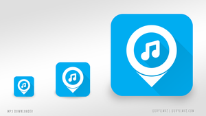 Mp3 Download App Icon by uuryilmaz