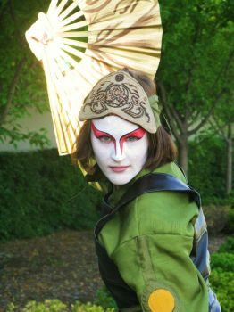 Kyoshi Cosplay 1 by Chimaera-Stormhawk