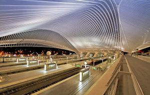 Arched - Liege-Guillemins III by ThomasHabets
