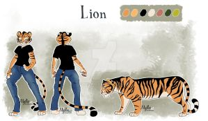Lion's reference sheet by mydlas