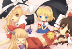 Touhou Project by Moorina