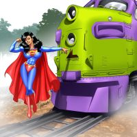 More powerful than a locomotive by SabrinaPandora